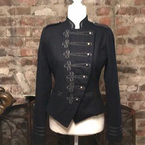 NWOT XXI Navy Double Breasted Wool Coat